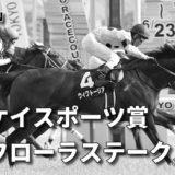 第55回サンケイスポーツ賞フローラステークス(GⅡ)攻略データ(1)