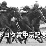 第68回トヨタ賞中京記念(GⅢ)攻略データ(1)