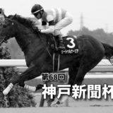 第68回神戸新聞杯(GⅡ)最終予想