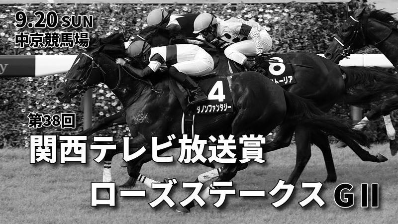 第38回関西テレビ放送賞ローズステークス(GⅡ)攻略データ(2)