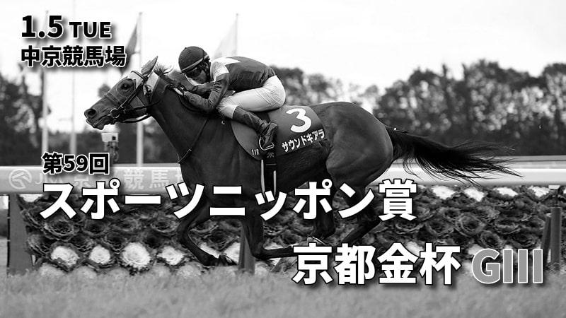 第59回スポーツニッポン賞京都金杯(GⅢ)攻略データ(2)