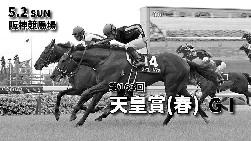第163回天皇賞(春)(GⅠ)攻略データ(1)