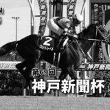 第69回神戸新聞杯(GⅡ)攻略データ(3)
